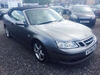 2006 SAAB 9 3 1.8t Vector CONVERTIBLE CREAM LEATHER