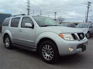 2012 Nissan Pathfinder LE 7PASS LEATHER DVD SUNROOF HEATED SEATS