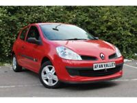 Renault Clio 1.2 16V Freeway 3dr **FULL S/HISTORY++2 OWNERS** (red) 2008