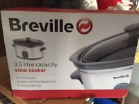 Breville 3.5 Litre Slow Cooker New & Unused
