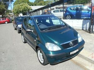 2001 Mercedes-Benz A160  Green Automatic Hatchback Croydon Burwood Area Preview