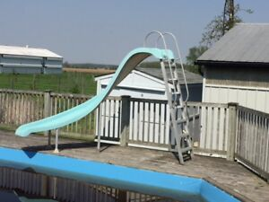 SWIMMING POOL SLIDE FOR SALE $300.00 OR OBO