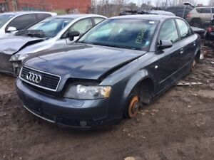 2005 Audi A4 just in for parts at Pic N Save!