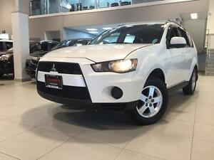 2013 Mitsubishi Outlander ES-AUTOMATIC-4WD-FACTORY WARRANTY