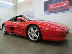 F355-Spider-F129-Type-Convertible-Rosso-Tan-Leather-6speed-manual-tools