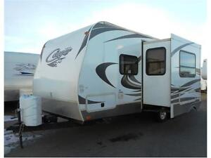 2013 Cougar 21 RBS       Light Travel Trailer & Barely Used