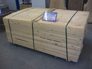 Nominal Spruce 1 x 6 x 6 Untreated Fence Boards