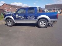 Nissan navara 4 wheel drive pick up double cab deisel 2005 moted