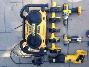 Dewalt cordless power tools