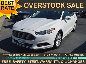 2014 Ford Fusion SE can be yours for $55/week