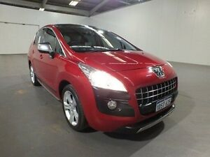 2010 Peugeot 3008 XTE 2.0 HDI Red 6 Speed Automatic Wagon Bibra Lake Cockburn Area Preview