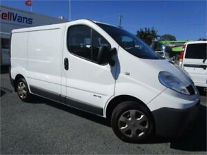 2013 Renault Trafic L1H1 MY11 2.0 DCI SWB White 6 Speed Manual Van Currumbin Waters Gold Coast South Preview