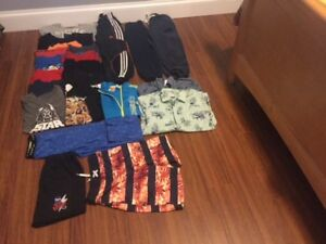 LARGE SELECTION OF BOYS 8 TO 10 CLOTHING.   VERY CLEAN