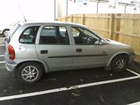 Spares/repairs. Vauxhall corsa, '98 Reg, Silver. £150 or nearest offer
