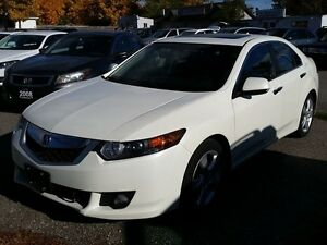 2010 Acura TSX w/Premium Pkg LIKE NEW NO ACIDENTS LEATHER AND SU