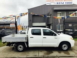 2008 Toyota Hilux TGN16R 07 Upgrade Workmate 5 Speed Manual