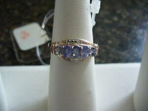 Genuine Tanzanite Ladies Ring