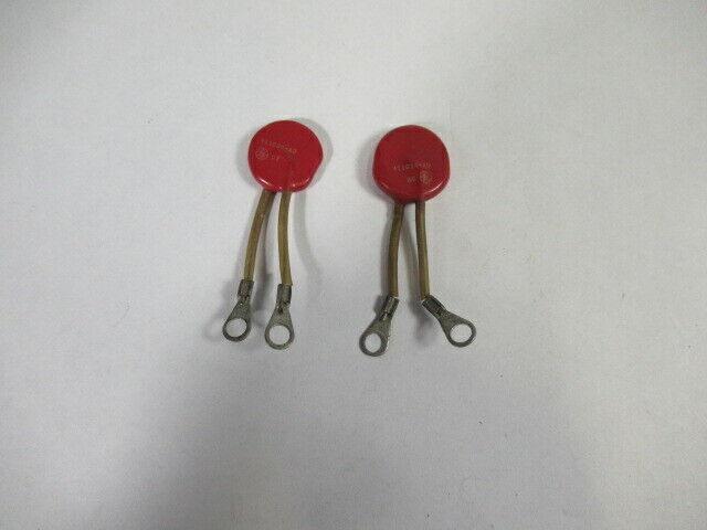 General Electric 411026-AD Metal Oxide Varistor Lot of 2 USED
