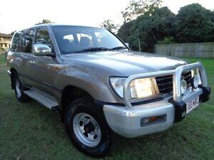 2001 Toyota Landcruiser FZJ105R GXL (4x4) Grey 4 Speed Automatic 4x4 Wagon Chermside Brisbane North East Preview