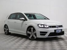 2015 Volkswagen Golf AU MY15 R White 6 Speed Manual Hatchback Atwell Cockburn Area Preview