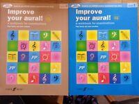 Improve your Aural Grade 1 and Grade 3 + CD