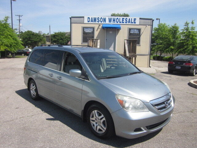 2006 honda odyssey ex l rear entertainment used honda. Black Bedroom Furniture Sets. Home Design Ideas
