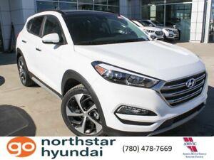 2018 Hyundai Tucson ULTIMATE: HEATED & COOLED SEATS/EMERG BRAKIN