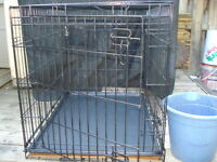 Wire Pet Crate/Cage With Pan