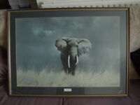 2x Large Framed Pictures