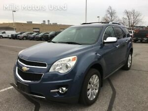 2011 Chevrolet Equinox LTZ 3.0L V6 AWD Bluetooth Backup Cam Leat