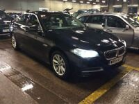 BMW 5 SERIES 2.0 520D SE 4d AUTO 188 BHP (black) 2014