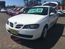 2004 Nissan Pulsar N16 MY03 ST White 5 Speed Manual Hatchback Lansvale Liverpool Area Preview