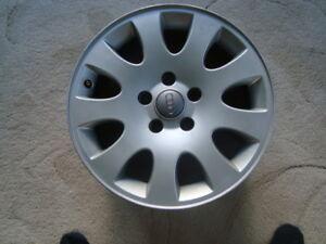 VW Audi Alloy rims, 205 55 16 snow tires