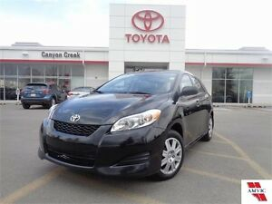 2013 Toyota Matrix LOW KMS ONE OWNER DEALER MAINTAINED