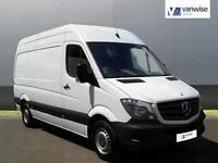 2013 Mercedes-Benz Sprinter 313 CDI MWB Diesel white Manual