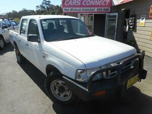 2003 Ford Courier PG GL (4x4) White 5 Speed Manual Crewcab Edgeworth Lake Macquarie Area Preview