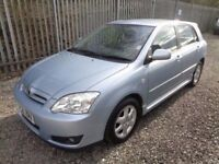 TOYOTA COROLLA 1.4 VVTI COLOUR COLLECTION 5 DOOR BLUE 87,000 MILES MOT 31/03/18 FULL SERVICE HISTORY