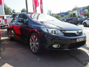 2013 Honda Civic 9th Gen Ser II Sport Black 5 Speed Sports Automatic Sedan Brookvale Manly Area Preview