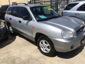 2001 Hyundai Santa Fe SM GL Silver 4 Speed Sports Automatic Wagon Welshpool Canning Area Preview