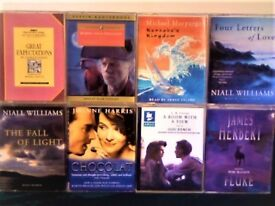 C DICKENS RL STEVENSON M MORPURGO N WILLIAMS J HARRIS EM FORSTER J HERBERT AUDIO BOOK CASSETTE TAPES