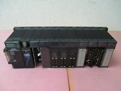 State Logic CPU IC693CHS391H PLC, GE Fanuc Series 90-30, AD693CMM301A Com Module
