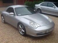 Porsche 911 (996) Carrera 4 Tiptronic S 2dr (arctic silver) 2003
