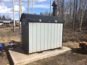 Outdoor Wood Gasification Boiler
