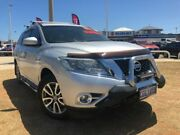 2015 Nissan Pathfinder R52 MY15 ST-L X-tronic 4WD N-TREK Silver 1 Speed Constant Variable Wagon Beresford Geraldton City Preview
