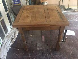 Antique Oak extending table