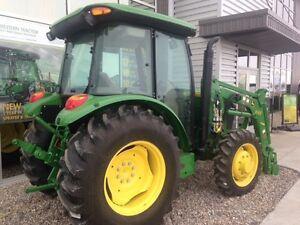 JOHN DEERE NEW 5065E CAB WITH LOADER --SALE ENDS MAY 1 2017