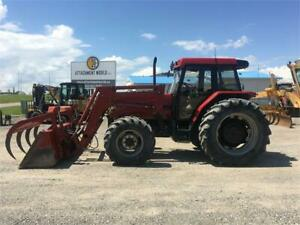 1995 Case IH 5240 Tractor w/ Loader for sale! LOW HRS! $52,500.