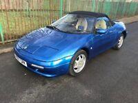 LOTUS ELAN SE TURBO, 1991, 165 BHP, 90K, MET BLUE, HPI CLEAR, MAY P/EX