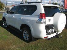 2012 Toyota Landcruiser Prado KDJ150R 11 Upgrade GXL (4x4) White 5 Speed Sequential Auto Wagon South Grafton Clarence Valley Preview