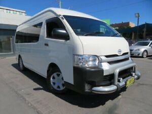 2015 Toyota HiAce TRH223R MY14 Commuter White 5 Speed Manual Bus Granville Parramatta Area Preview